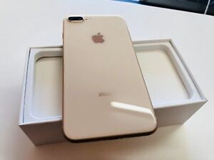 iPhone 8 Plus 256gb gold unlocked great condition warranty