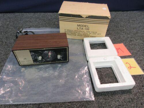 Wittnauer Longines Symphonette LTA-100 Desk Alarm Clock USA Japan Vintage