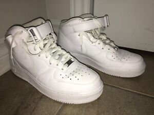 """Nike Air Force 1 (high) SIZE 9 """"new"""" «neuf»"""