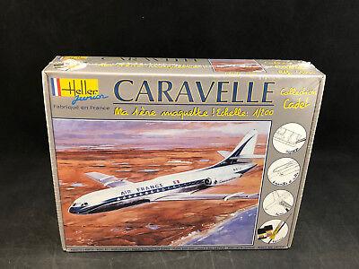 Heller Caravelle Air France 1:200 Scale Plastic Model Kit 49074 in Box
