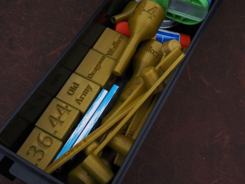 All Calibers Paper Cartridge Former Master Kit