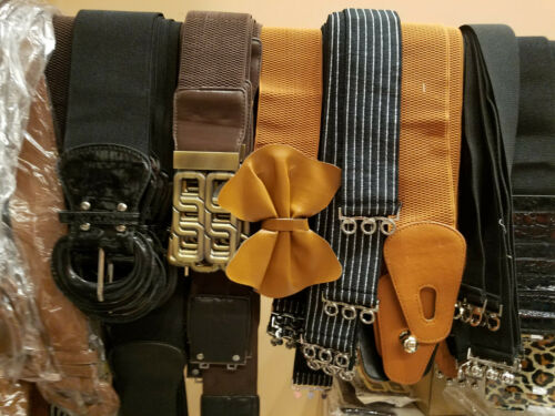 Wholesale lot of 50 assorted belts Brand new