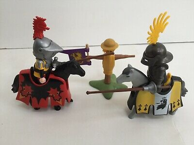Playmobil Knights - Tournament Jousting Set with Horses - Castle Medieval
