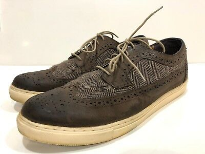 Crevo Men's Wingtip Oxfords Shoes Size 10 M
