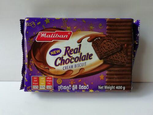 Maliban Chocolate Cream Biscuit Real Chocolate Sri Lankan Product 400g