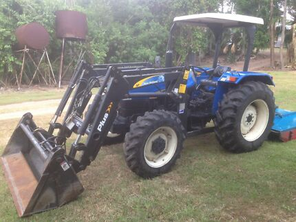 Tractor New Holland TT75 Mackay Mackay City Preview