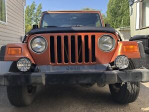 2002 Jeep tj *soft top and hard top!*