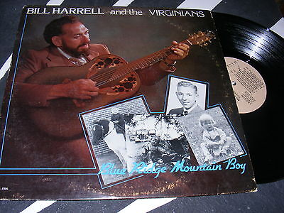 (Blue Harrell & The Virginians Blue Ridge Mountain Boy 1981 Leather Issue SIGNED!)