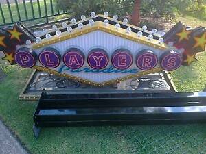 PLAYERS PARADISE POKER MACHINE LIGHTS DISPLAY Fairfield West Fairfield Area Preview