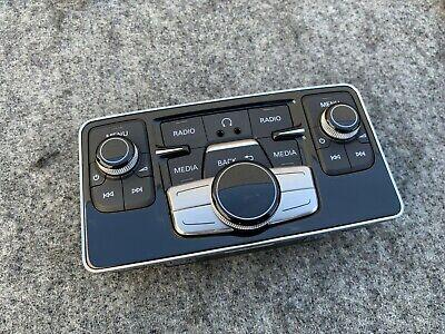 REAR CONSOLE RADIO AUDIO CONTROL SWITCH UNIT 11-17 AUDI A8 A8L S8 D4 4.2L 59k!!!