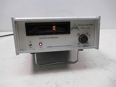 Lambda Instruments Li-cor Li-3000 Portable Area Meter Agronomy Botany Lab Unit