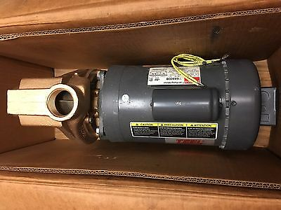 Amt Teel Pump 3891-97 2p374b Self-priming Centrifugal Pump Bronze 1.5 Hp