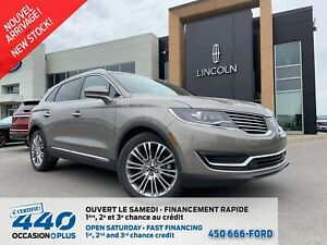 2017 Lincoln MKX RESERVE   3.7L AWD CUIR TOIT PANO NAV