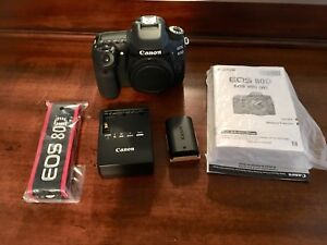 Canon 80D Body-4 months old!!