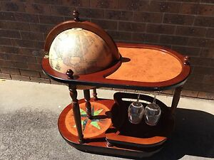 Antique Globe Bar Table Ringwood East Maroondah Area Preview