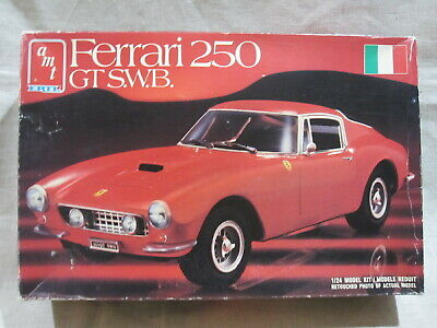 Ferrari 250 GT S.W.B. 1/24 Model Kit By AMT Ertl - No. 8688 - Unused