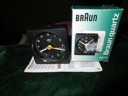 BrAun | Alarm Clock | AB1A | Instructions | 3855 | Original Box | With Battery