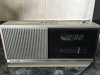 Vintage Panasonic Alarm Clock Radio model # RC-96 RC96