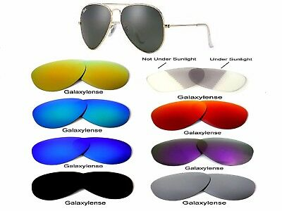 Galaxy Replacement Lenses For Ray Ban RB3025 58mm Sunglasses Multi (Replacement Lens For Ray Ban Sunglasses)