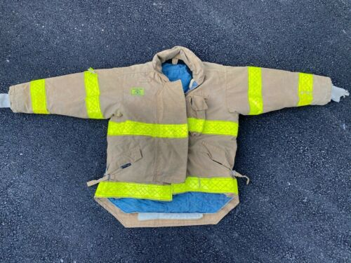 Morning Pride Firefighters Jacket Turnout Bunker Gear Fireman 54 C 31/37L