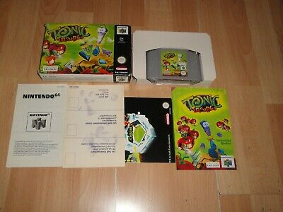 TONIC TROUBLE BY UBI SOFT FOR NINTENDO 64 N64 EUROPE VERS. IN VERY NEW CONDITION