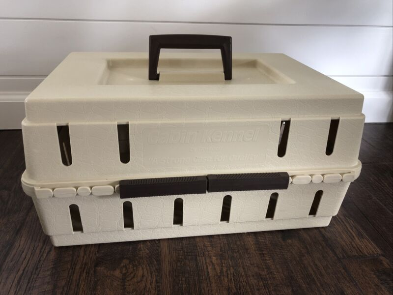 "DOSKOCIL Cabin Kennel Airline Underseat Pet Crate 15""x11""x8"" Dog Cat"