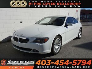 2005 BMW 645 CI LOADED, BLOW OUT PRICING!!