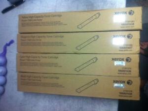 Xerox BRAND OEM  HIGH CAPACITY yellow Toner  Phaser 7500 Printer 106R01438