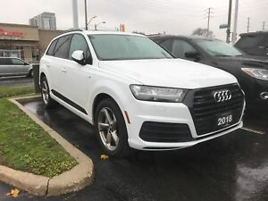 2018 Audi Q7 3.0T Progressiv, No Accidents, S Line, Savings!