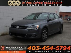 2014 Volkswagen Jetta TSI w/ Sunroof, Heated Seats, Bluetooth