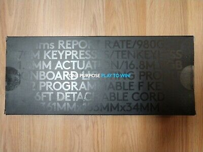 "Logitech G Pro Mechanical Gaming Keyboard with 16.8 Million Color RGB ""NEW"""