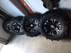 ATV Brute Force 750 tires and wheels