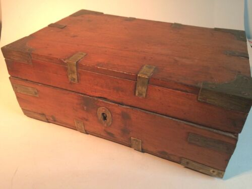 Small Antique Wooden Chest