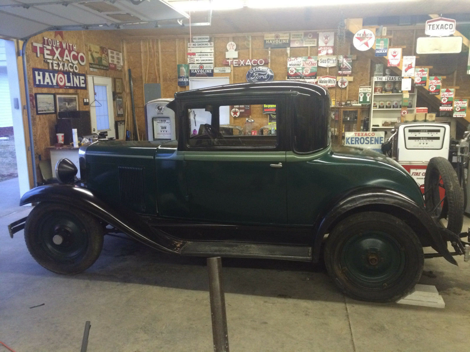 1930 Chevrolet AD -- 1930 Chevrolet Coupe Barn Find