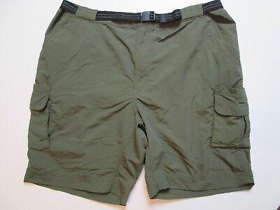 8cd077bf34 Magellan Outdoors Men's Fishing Cargo Shorts Size 2XL Green #J1