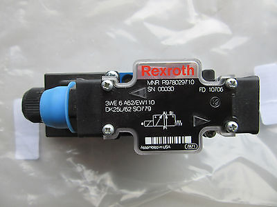 Rexroth R978029710 Hydraulic Directional Control Valve New Free Shipping