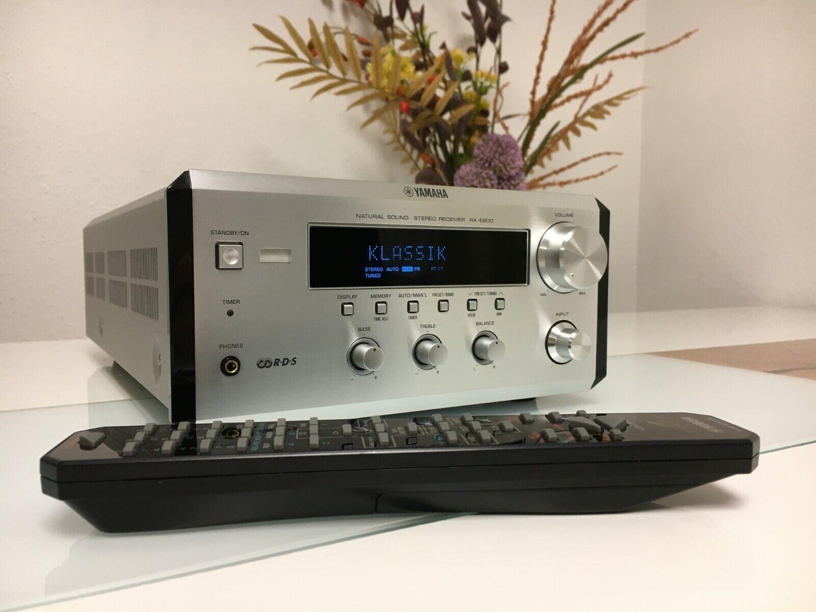 Yamaha RX-E600 PianoCraft Stereo Receiver mit Fernbedienung - TOP Zustand!