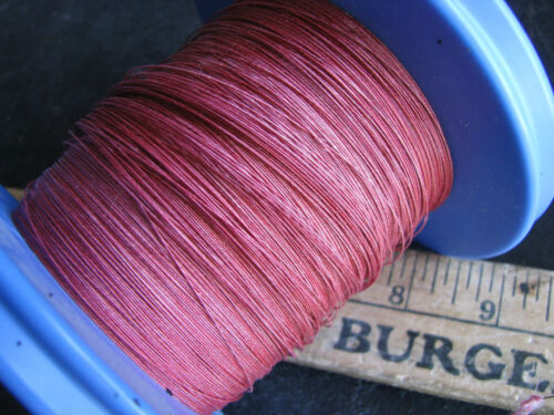 1 pound COTTON/CLOTH INSULATED MAGNET WIRE 30 awg ga tinned/enameled