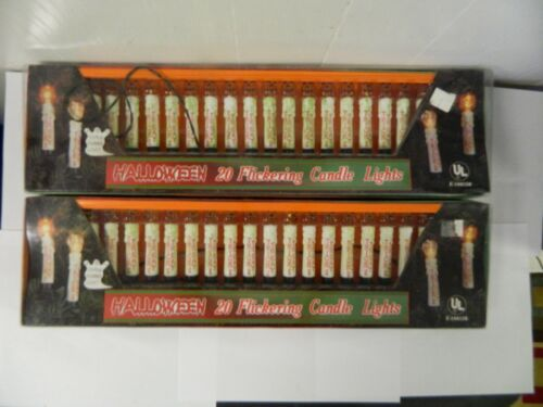 Halloween Flickering Trick of Treat Candle Lights Set of 40 Foremost Industries