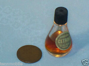 Vintage-MINI-CITANA-A-Blanc-BOTTLE-France-Miniature-Parfum-Perfume