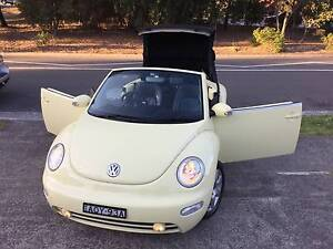 2003 Volkswagen Beetle Convertible MY04 SoftTop Low Ks LOGBOOKS Sutherland Sutherland Area Preview