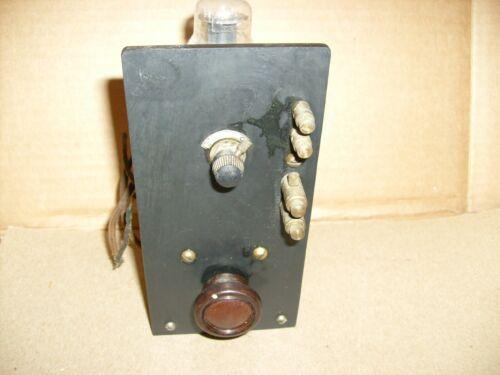 Vintage Tube  Radio Project - from crystal radio builder