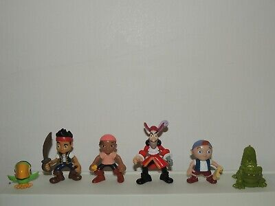 Fisher Price Disney Jake And The Neverland Pirates Captain Hook Action Figures
