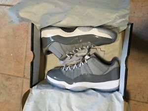 Size 9 Air Jordan 11 Retro Low (Cool Grey)