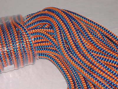 Arborist 12 Strand Polyester Climbing Rope 12x120 Feet Blue Orange Hi Vis Tree