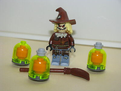 LEGO The Batman Movie The Scarecrow from #70913 Scarecrow Fearful Face-off