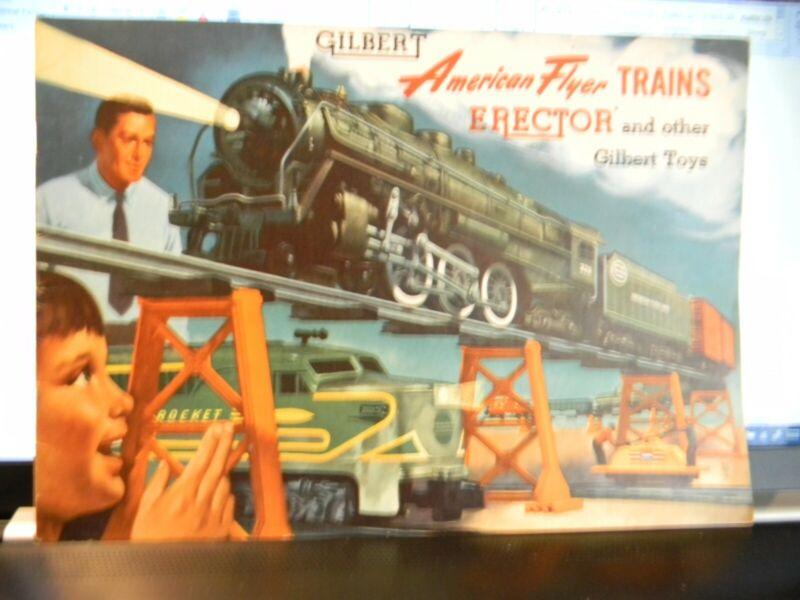1954 American Flyer Catalog by Gilbert
