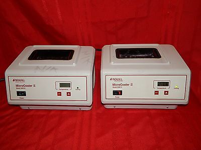 Lot Of 2 Boekel Microcooler Ii Micro Cooler Model 260010 Benchtop Coolers Work