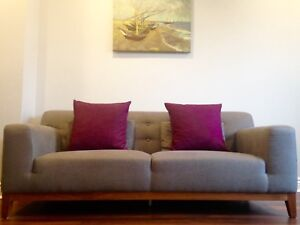 Structube couch loveseat