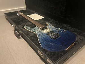 Tom Anderson Angel Arctic Blue Surf Electric Guitar